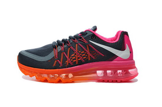 Womens Nike Air Max 2015 Pink Orange Black Red